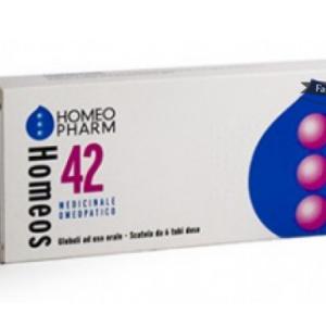 Homeos 42 - 6 tubi dose