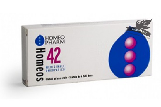 Homeos 42 – 6 tubi dose