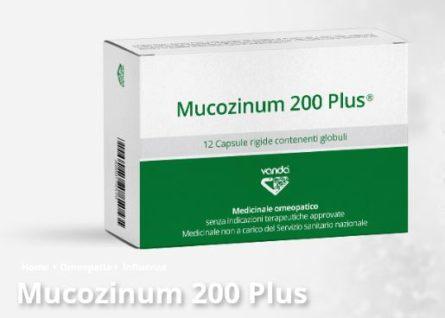MUCOZINUM 200 PLUS 12 Capsule VANDA